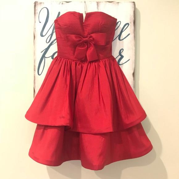 Sherri Hill Dresses | Strapless Cocktail
